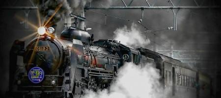 Sublime reproduction de train à vapeur !